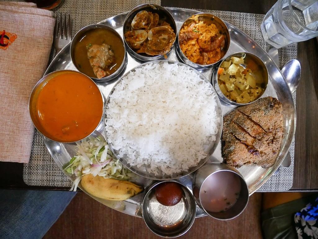 goan fish thali copperleaf
