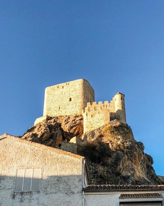 moorish castle olvera spain
