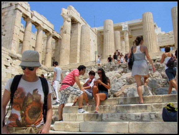 backpacking, athens, greece, europe, lost luggage