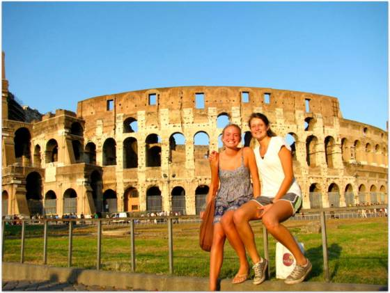 sample western europe itinerary rome