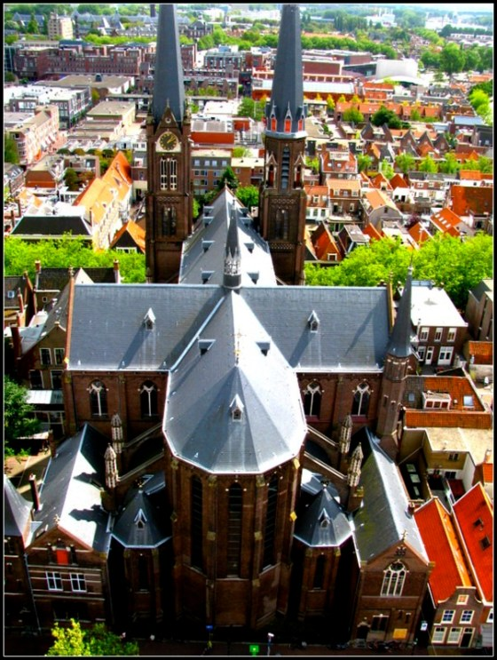 sample western europe itinerary delft