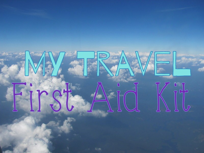 travel first aid kit whats in my backpack
