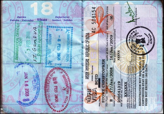 Copies Of Passport And Visa While Traveling