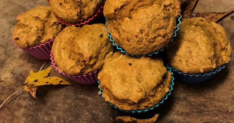 Oil-Free Pumpkin Muffins