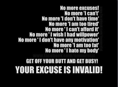 no excuses3