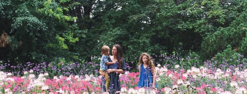 Danielle Chassin Hippie in Disguise in flower garden