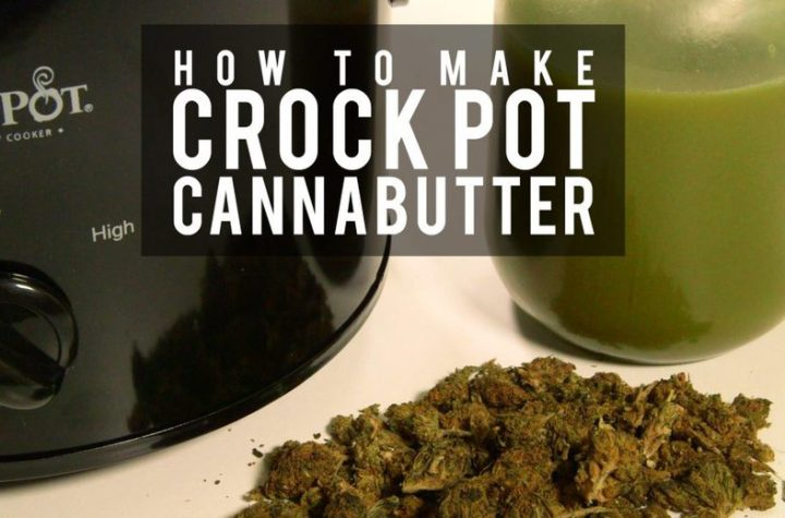 HOW TO MAKE CROCKPOT CANNABUTTER