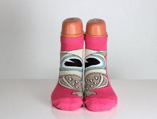 Owl Face Socks