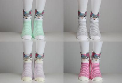 Kitty Cat Socks