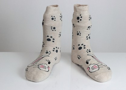 Rabbit Paw Socks