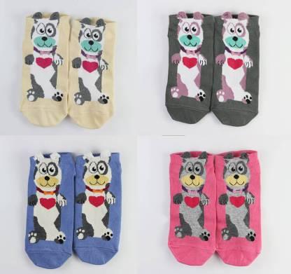 3D Dog Doggy Funny Socks