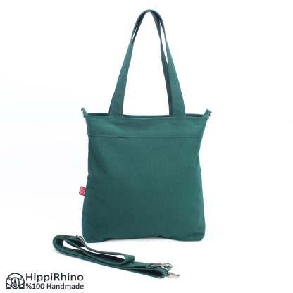 Green Washable Shoulder Crossbody Bag
