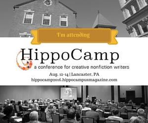 i'm attending HippoCamp badge