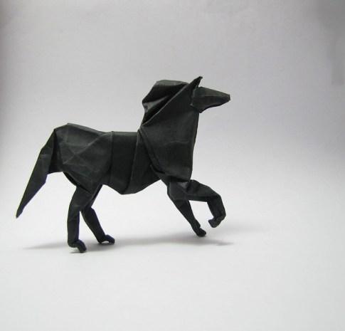oragami horse