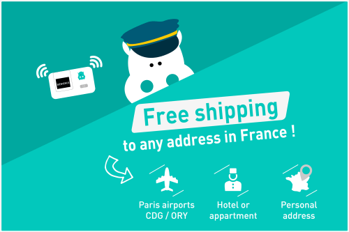 Free delivery pocket wifi