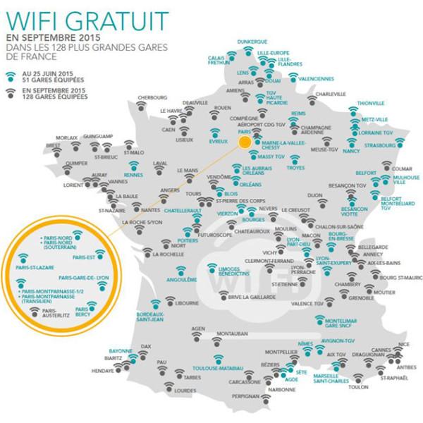 WIFI dans les gares et TGV SNCF - HIPPOCKETWIFI