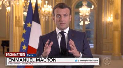 Macron on CBS