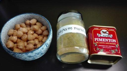 pois chiches aux épices