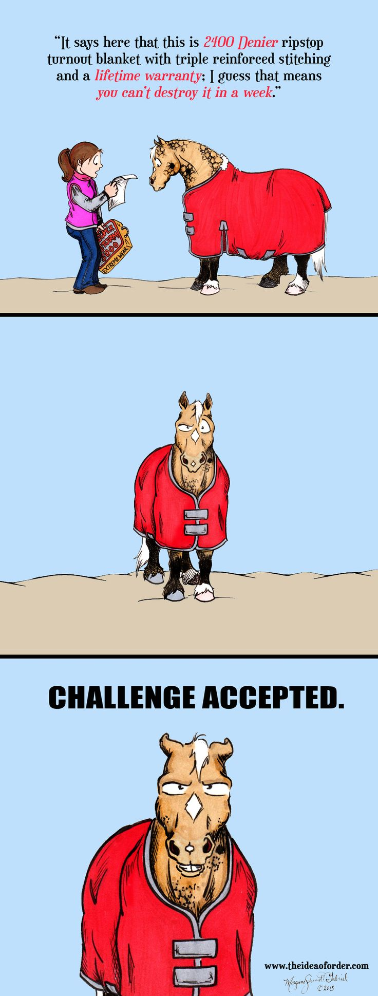 10 Funny Horse Cartoons HippoLogic