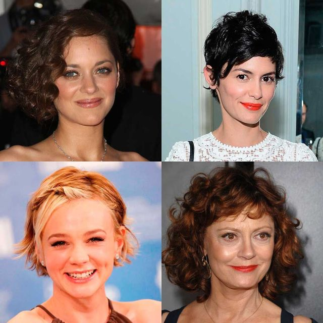 short curly hairstyles - the best haircuts for curls