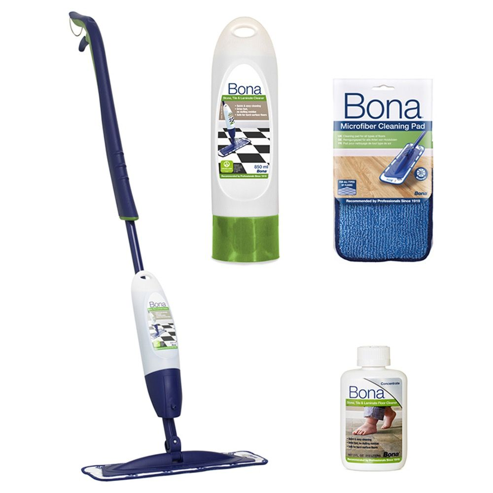 bona stone tile and laminate spray mop