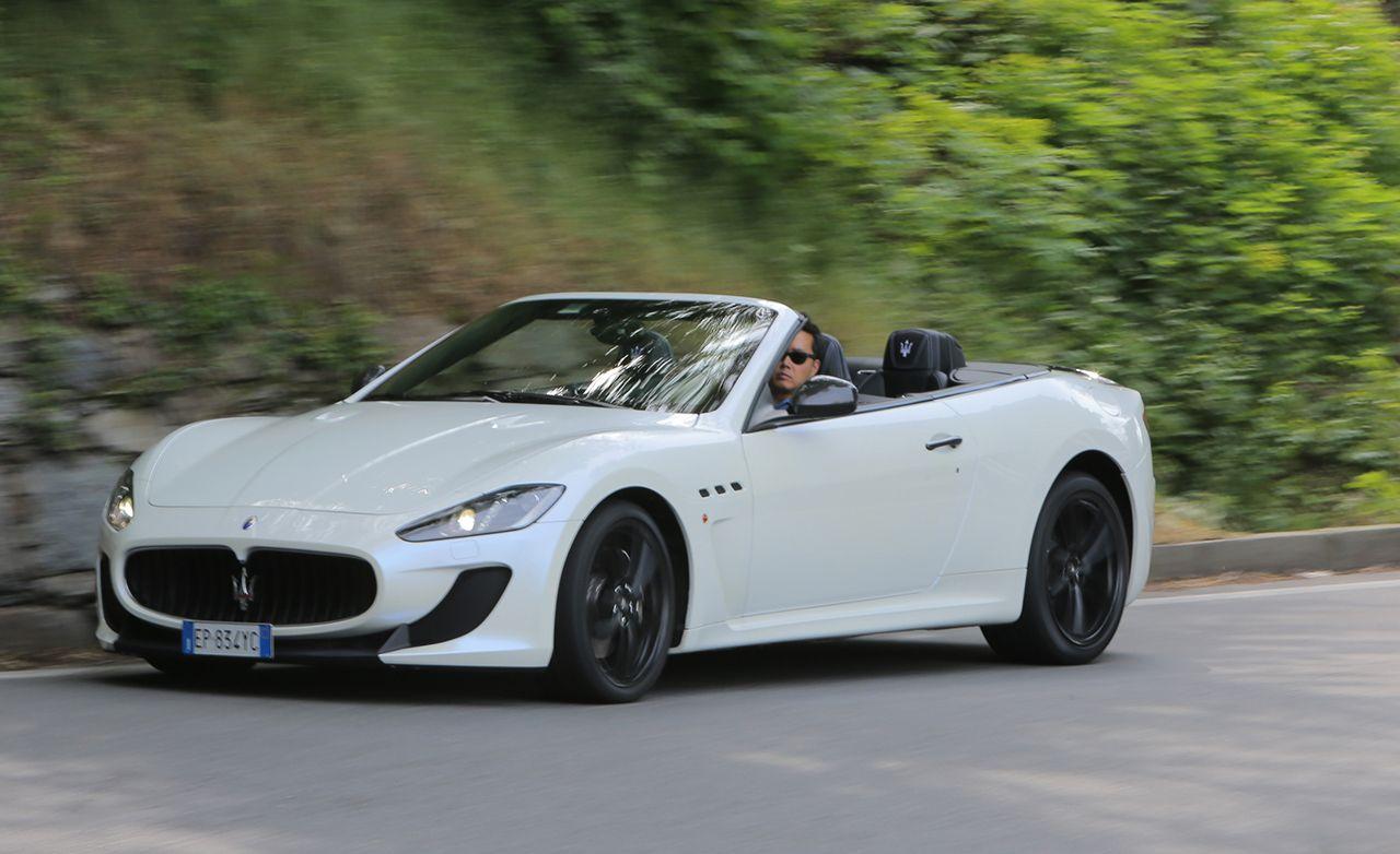 2013 Maserati GranTurismo MC Convertible First Drive