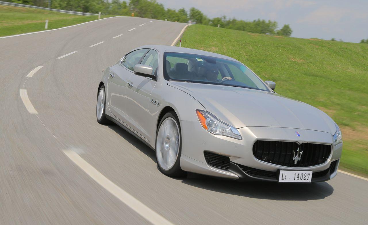 2014 Maserati Quattroporte S Q4 First Drive Review Car