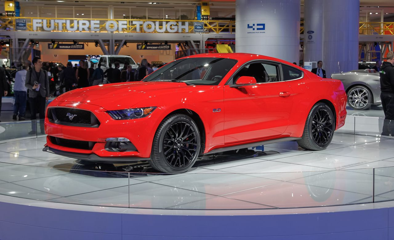 2015 Ford Mustang Photos and Info   News   Car and Driver 2015 Ford Mustang Debuts  This Time It s Definitely the Real Thing