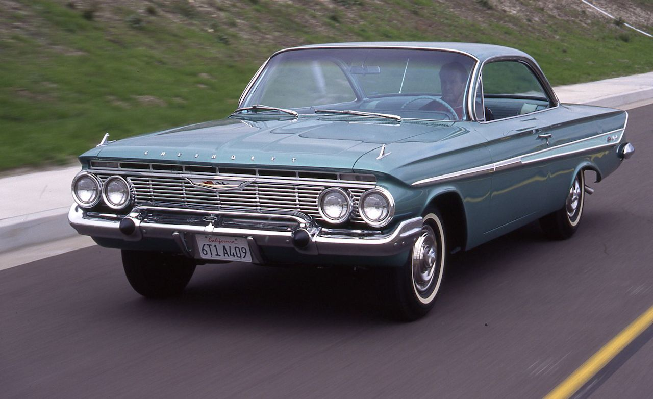 1961 Chevrolet Impala SS409 Archived Test   Feature   Car and Driver 1961 Chevrolet Impala SS409