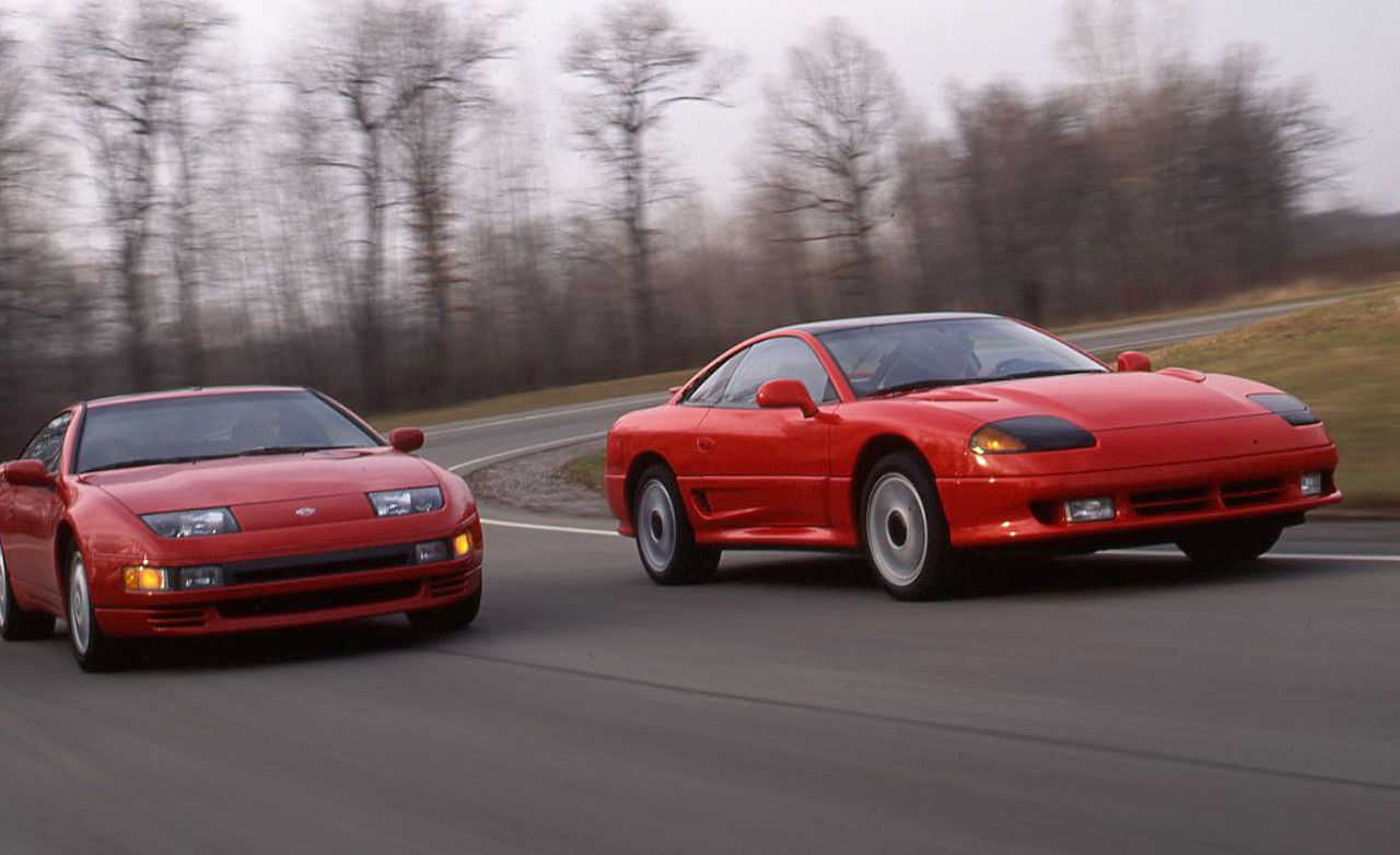 Nissan 300ZX Turbo Vs Dodge Stealth RT Turbo Archived