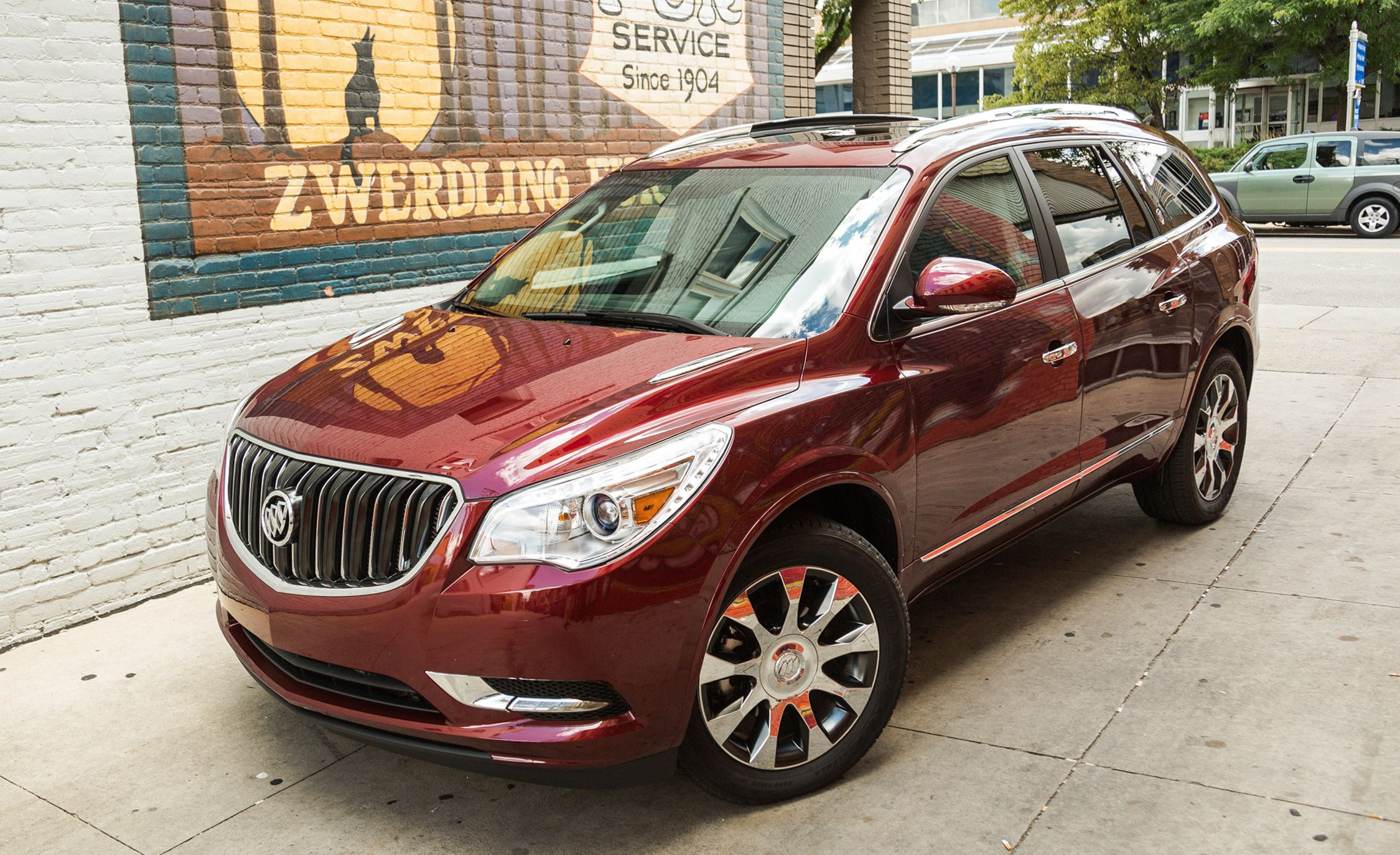 2017 Buick Enclave Review Car And Driver