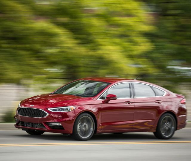 2014 Ford Fusion Se 1 5l Ecoboost Automatic Test Review Car And Driver