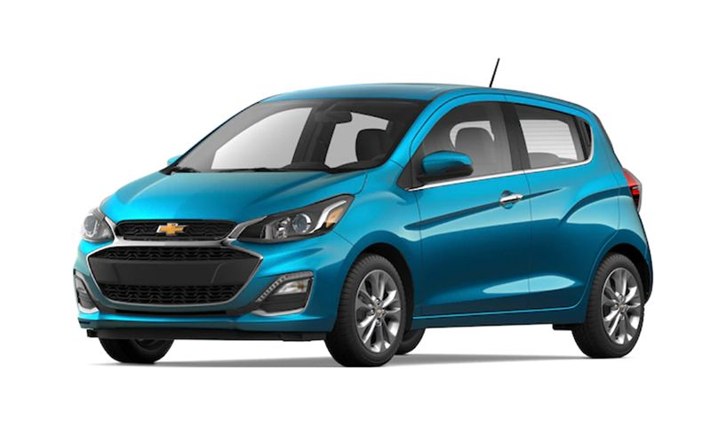 chevrolet spark features and specs