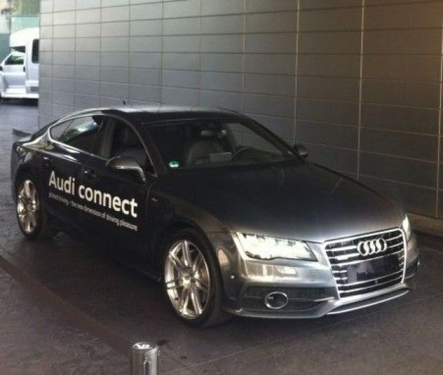Audi A7 Self Parking Demo