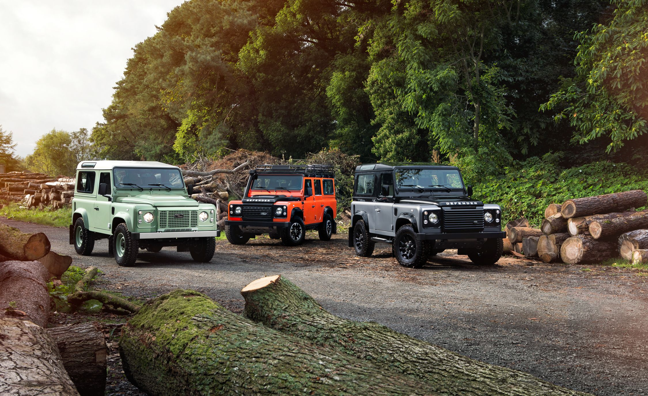 2015 Land Rover Defender Heritage Edition Adventure Edition and