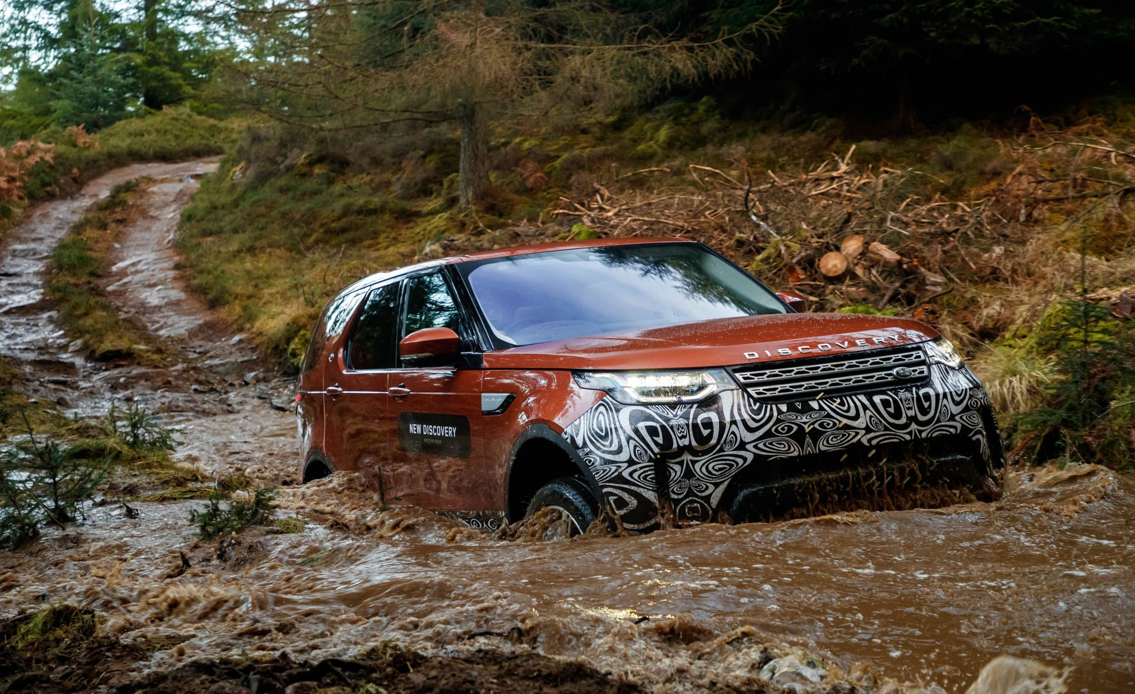 2017 Land Rover Discovery Prototype Drive – Review – Car and Driver