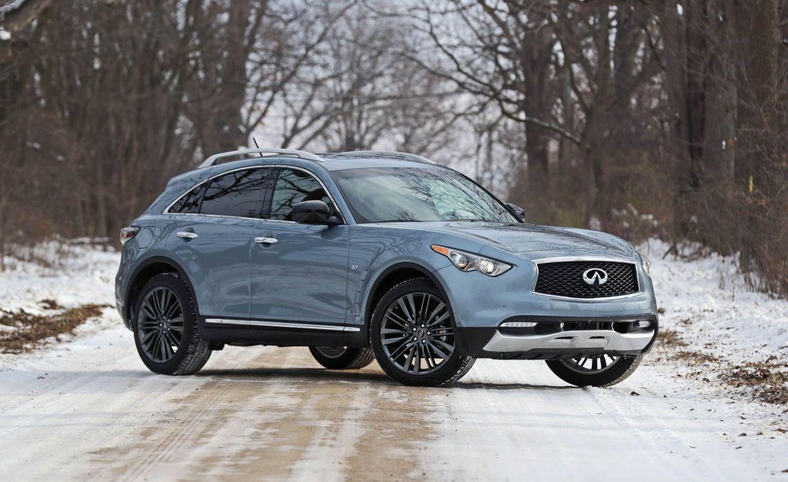 infiniti killing qx70 suv as of 2018 model year | news | car and driver