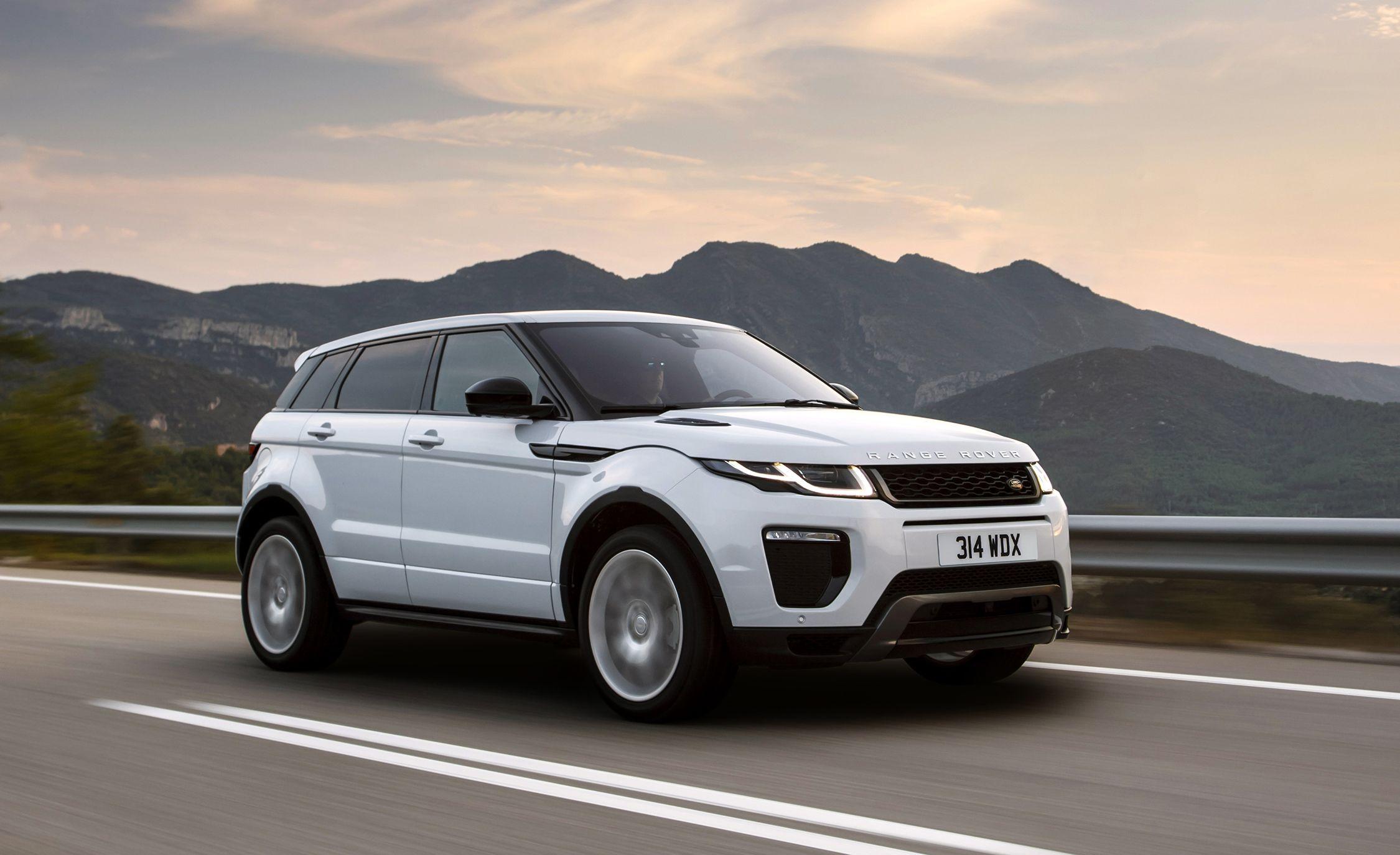 2018 Land Rover Range Rover Evoque Gallery