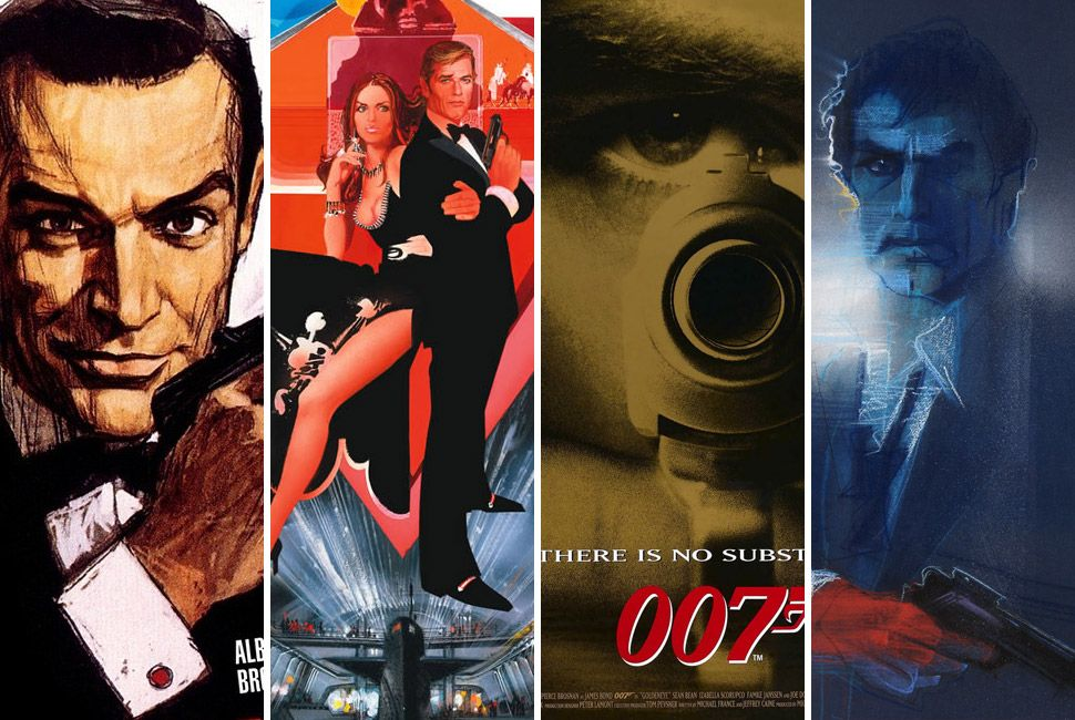 the best 007 posters in cinema history