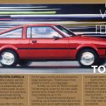 1980 Futuristic Toyota Corolla Sr 5 Sport Coupe Offers Space