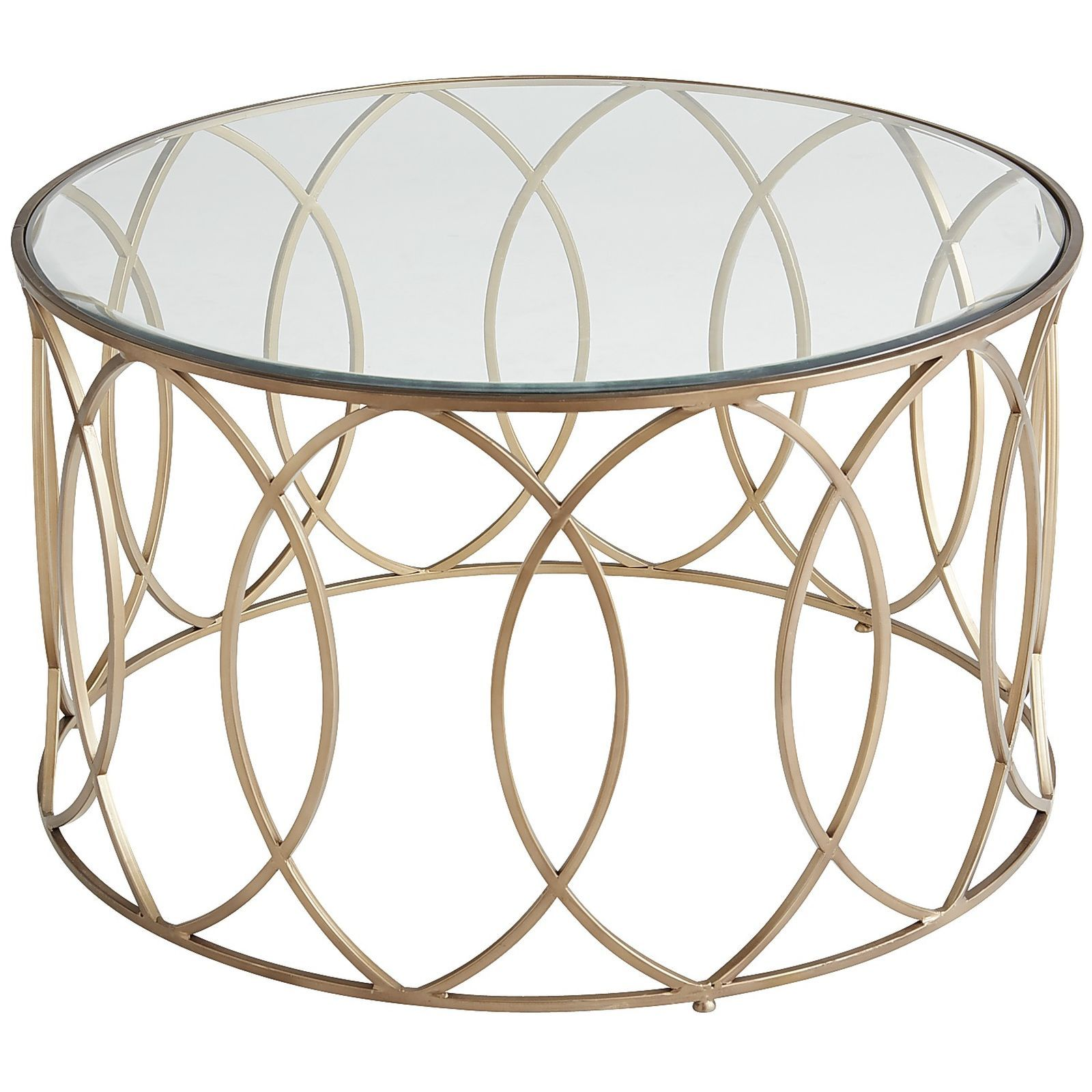 wood glass round coffee tables