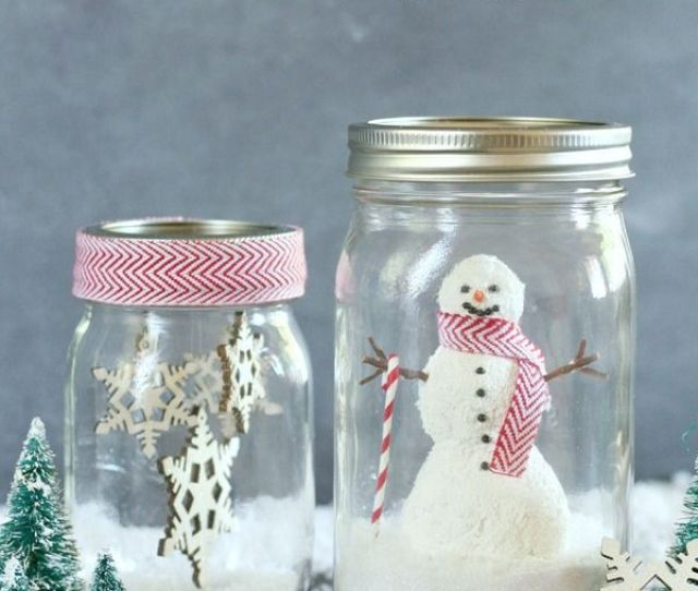Diy Snowglobes That Will Get You Excited For Christmas How To Make Snow Globes