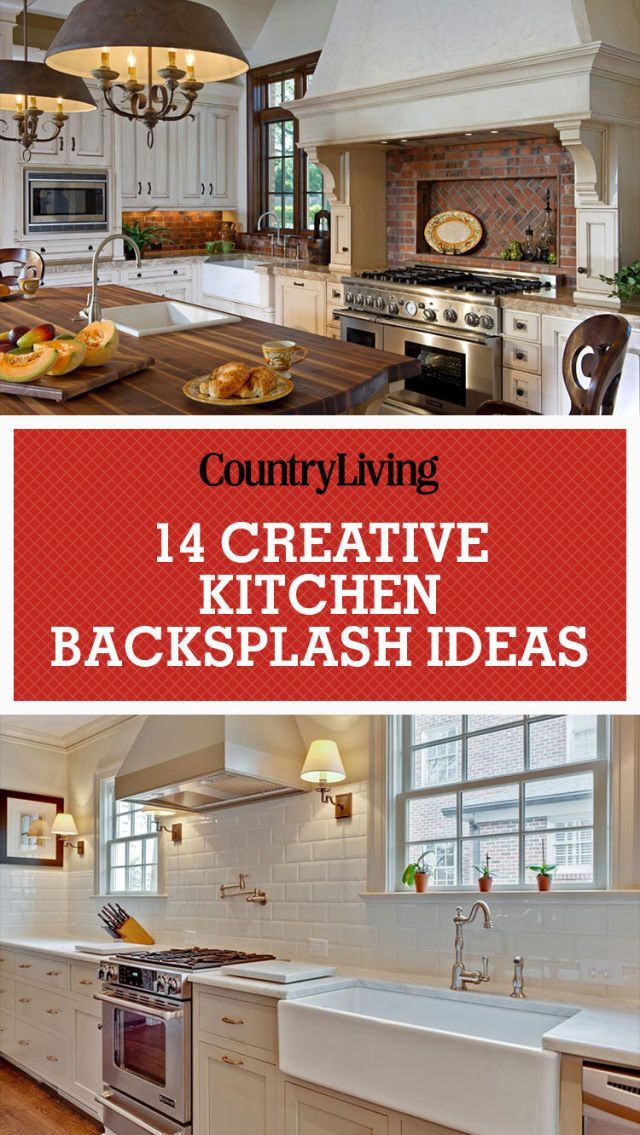Inspiring Kitchen Backsplash Ideas - Backsplash Ideas for ... on Countertops Backsplash Ideas  id=94335