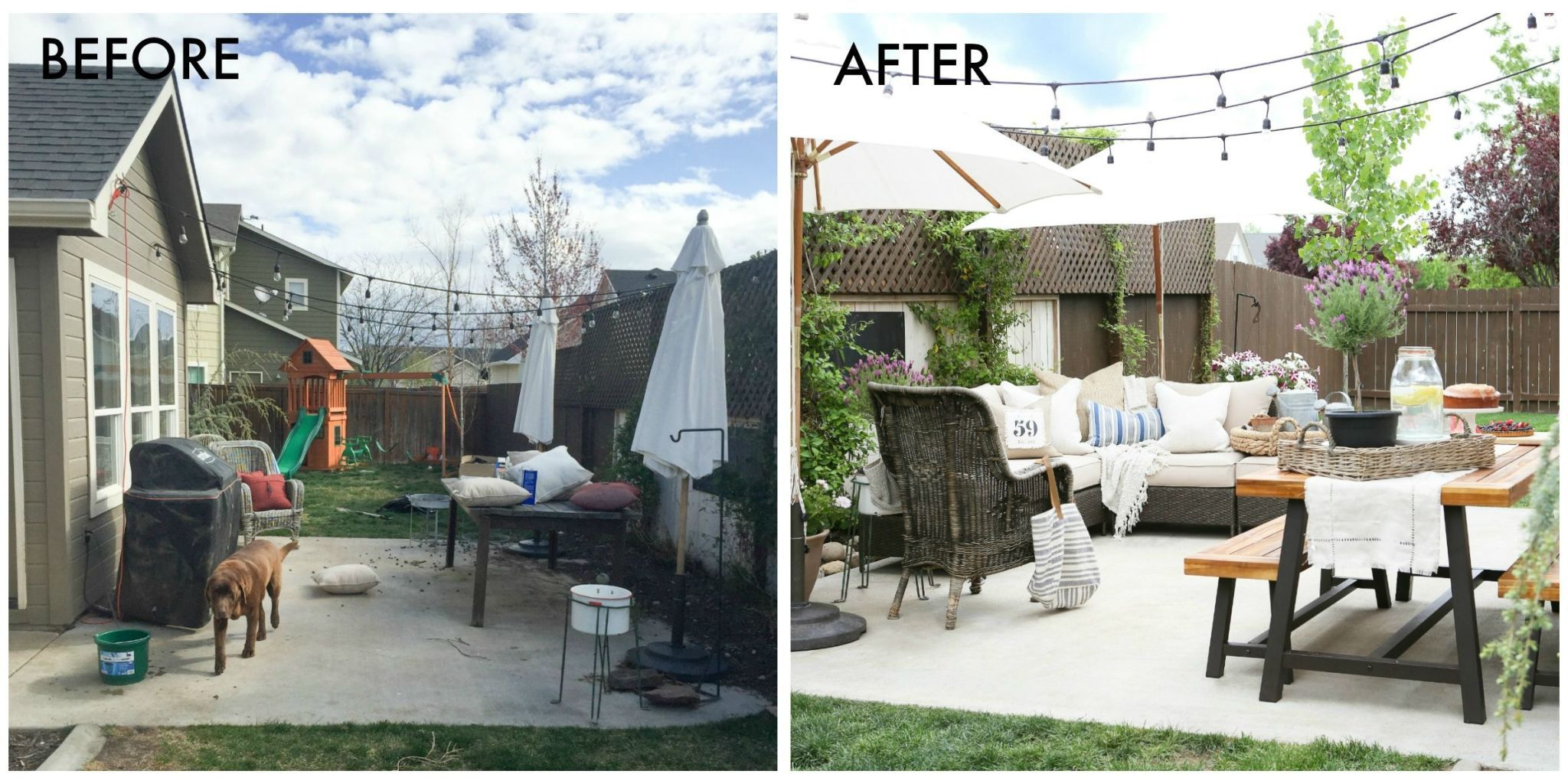 Patio Makeover Ideas — How to Update Your Patio For Summer on Patio Makeovers On A Budget id=32439