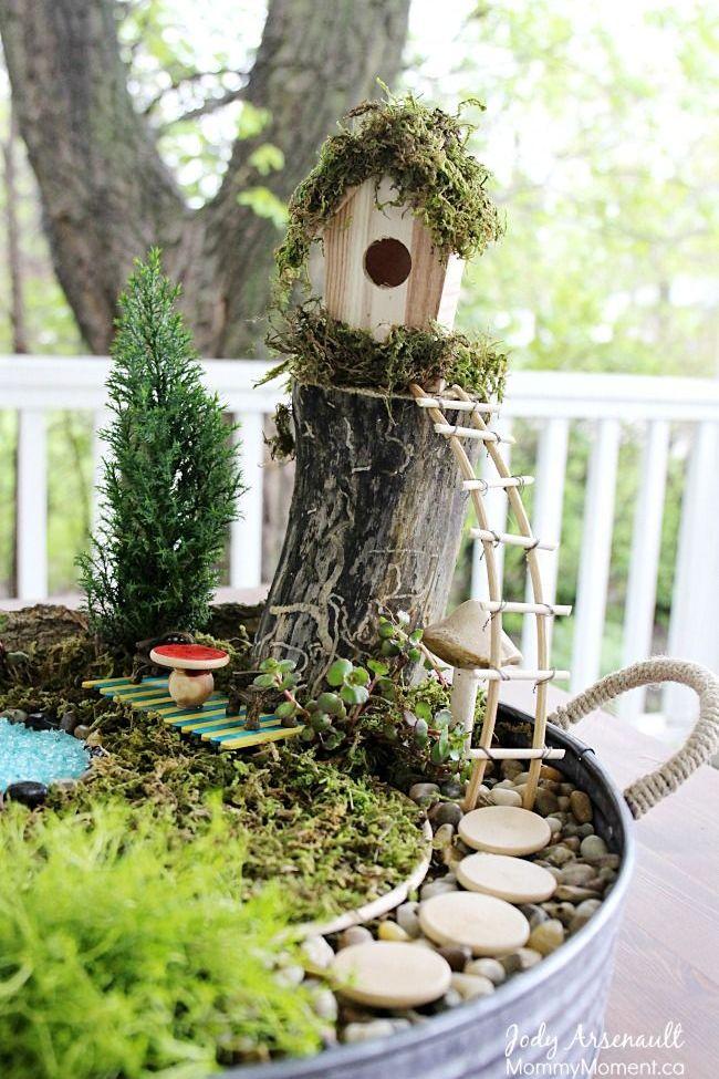 Fairy garden Ideas: Budget-Friendly Fairy House
