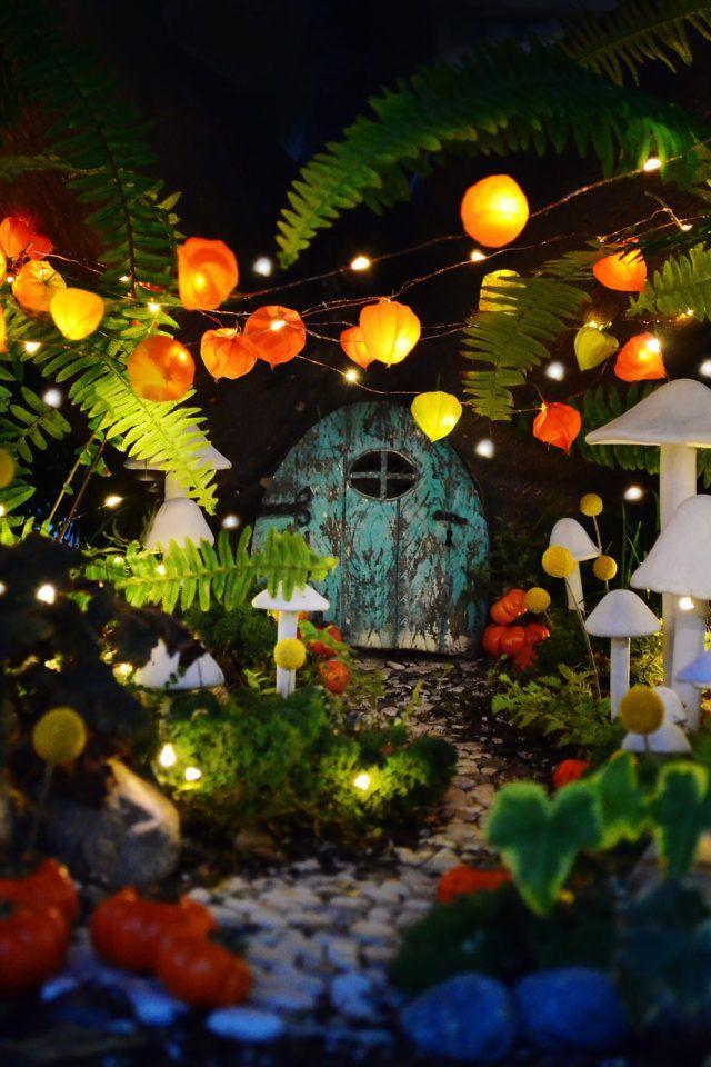 Fairy Garden Ideas: Change of the Seasons