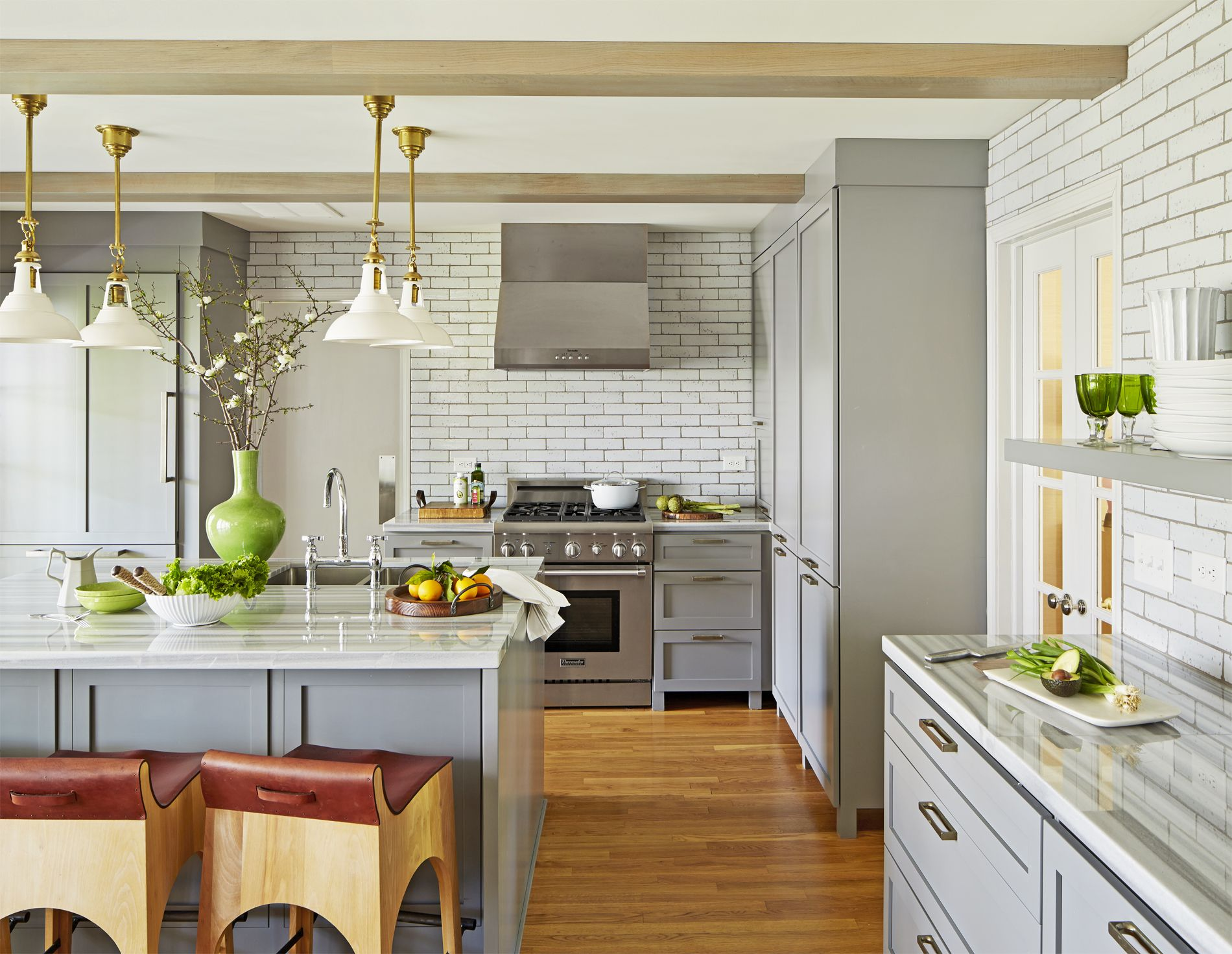 12 gorgeous kitchen trends for 2019 - new cabinet and color design ideas