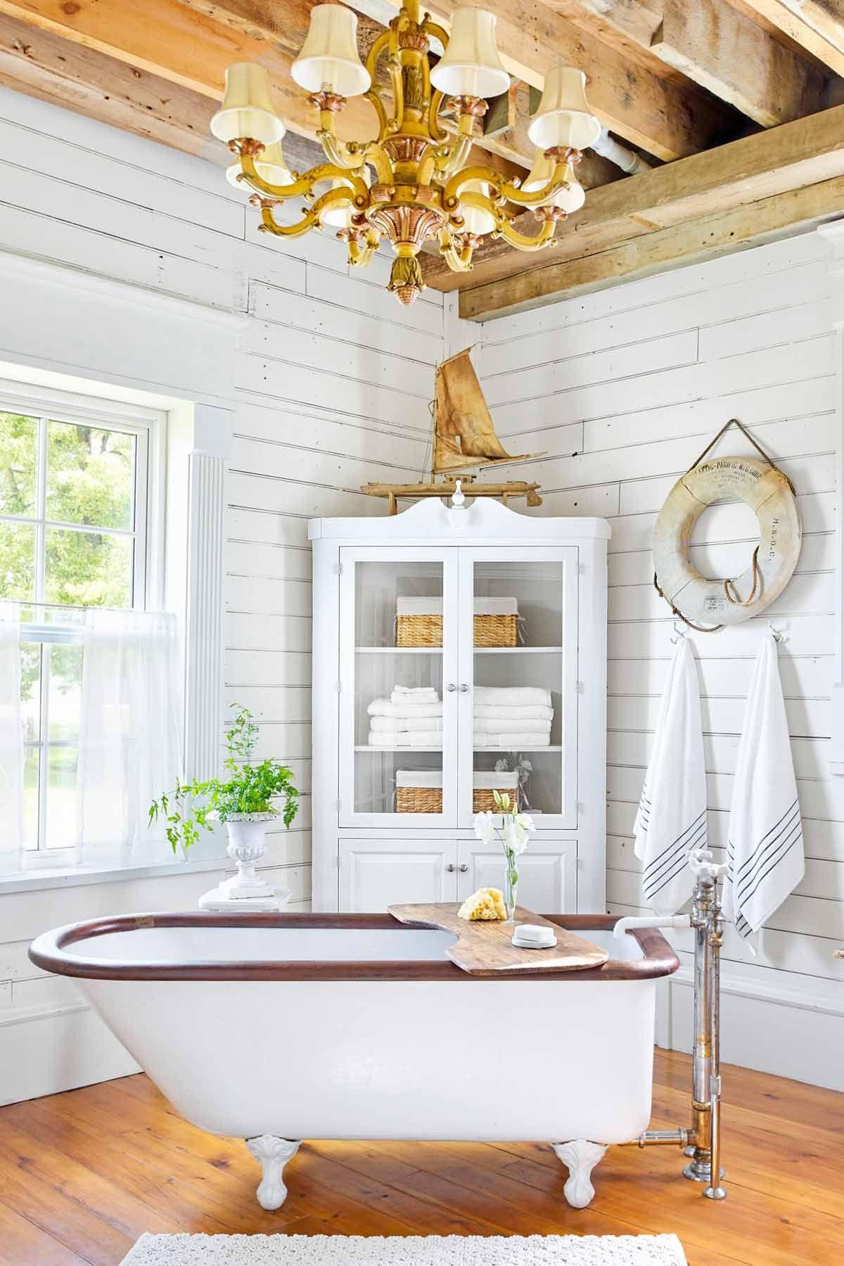 37 Rustic Bathroom Decor Ideas - Rustic Modern Bathroom ... on Rural Bathroom  id=90100