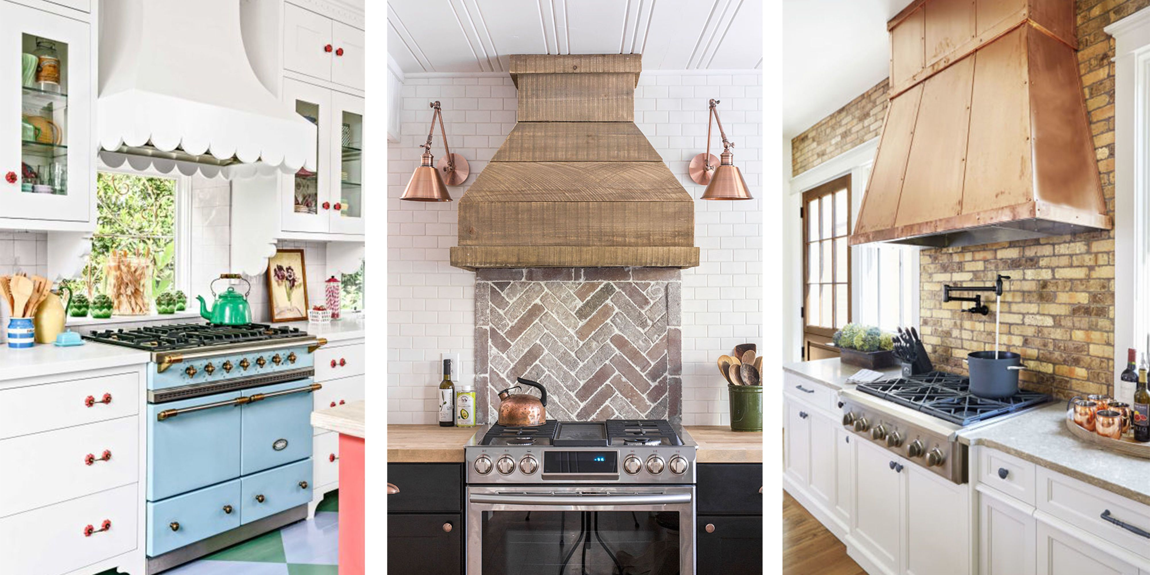 15 gorgeous kitchen range hoods that are eye candy not on kitchen remodeling and design ideas hgtv id=57986