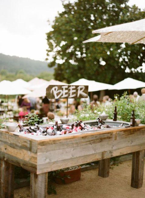 Beer bar en tu boda